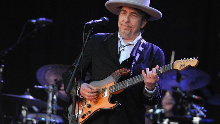 Bob Dylan in 2012. Beeld afp