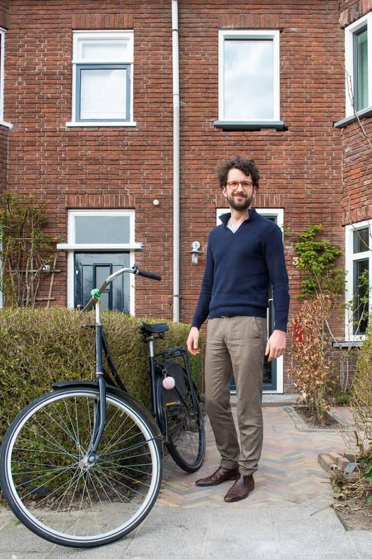 Nick Matulessy zet zijn fiets nooit op slot.