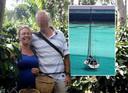 Durdana en Peter uit Heino. Justitie meent dat hij zijn echtgenote vermoordde op hun boot, voor de kust van Colombia.