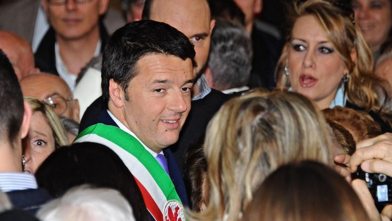 PD-leider Matteo Renzi. Beeld anp