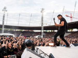 Quand Metallica chante Johnny au Stade de France