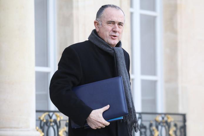 Minister Didier Guillaume, in opspraak na een bezoek aan een stierengevecht.