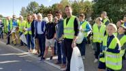 Vrijwilligers rapen zwerfvuil tijdens World Cleanup Day