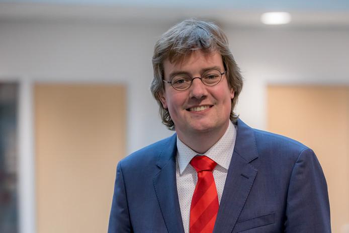 CDA-wethouder financiën Daniël Joppe van de gemeente Schouwen-Duiveland
