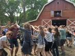Feest op Dauwpop voor gezin, zussen én fitnessmaatjes