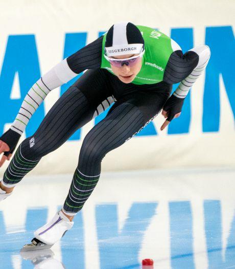 Kok verslaat Leerdam en wint eerste 500 meter in razendsnelle tijd