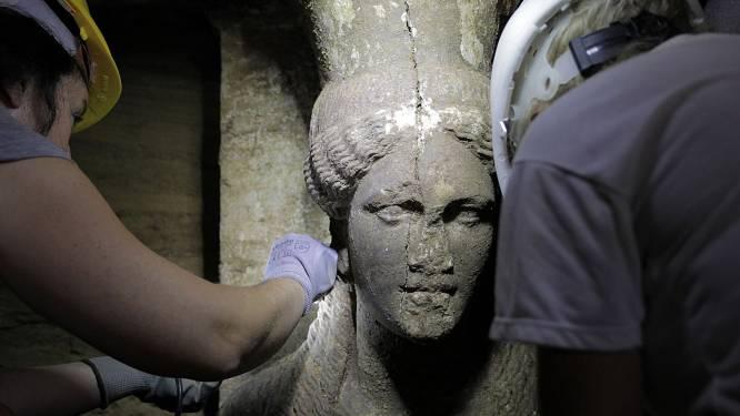 Macedonisch graf geeft nieuw geheim prijs: grondmozaïek