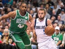 Boston Celtics komt met de schrik vrij tegen Dallas Mavericks