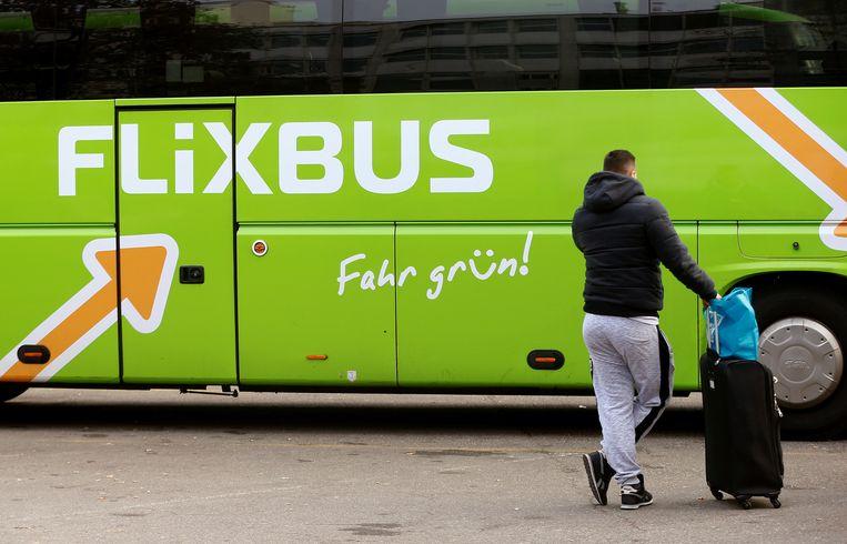 De halte van FlixBus bevindt zich in de Kennedylaan.