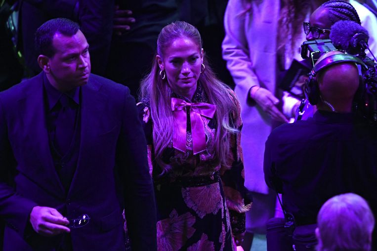 Alex Rodriguez en Jennifer Lopez waren ook aanwezig