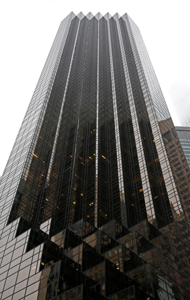 Trump Tower in New York. Beeld ap