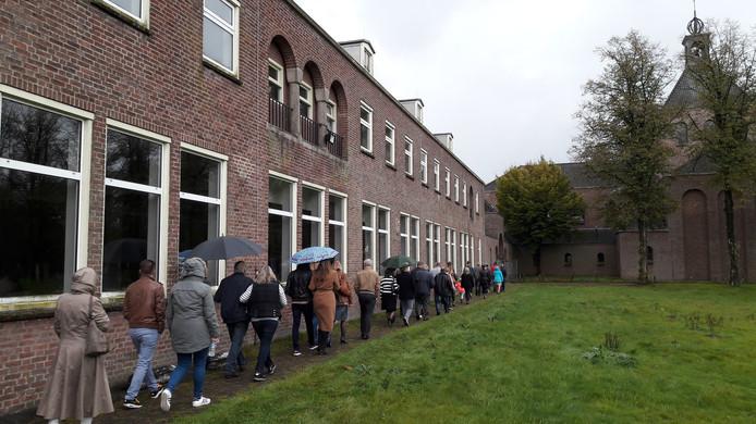 De open dag op De Klokkenberg eind 2017 trok veel belangstelling.
