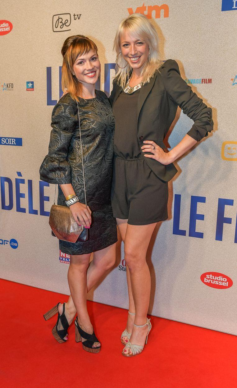 Erika en Heidi Van Tielen.