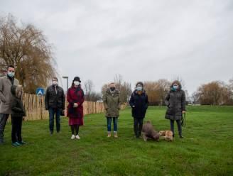 Provincie en gemeentebestuur leggen hondenlosloopweide aan op parking Nieuwdonk