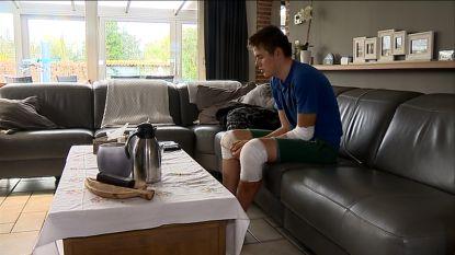 """Jonge wielrenner aangeslagen na dood Stef (19): """"Als een renner zo blijft liggen, dan weet je dat het niet goed is"""""""