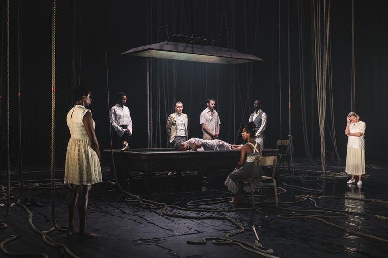 'Black, the Sorrows of Belgium I: Congo' Beeld Michiel Devijver