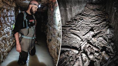 """Vlaming daalt af in gigantisch tunnelnetwerk onder Parijs, waar 6 miljoen anonieme lijken liggen: """"Levensgevaarlijk en illegaal"""""""