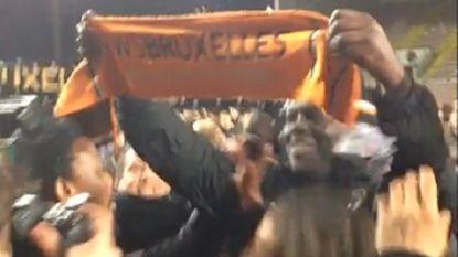 Onwezenlijk filmpje: club zonder licentie viert titel