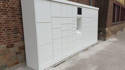 Bpost installeert pakjesautomaat aan het gemeentehuis