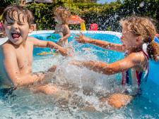 Oproep: heb jij zo'n gezellig zwembadje in de achtertuin?