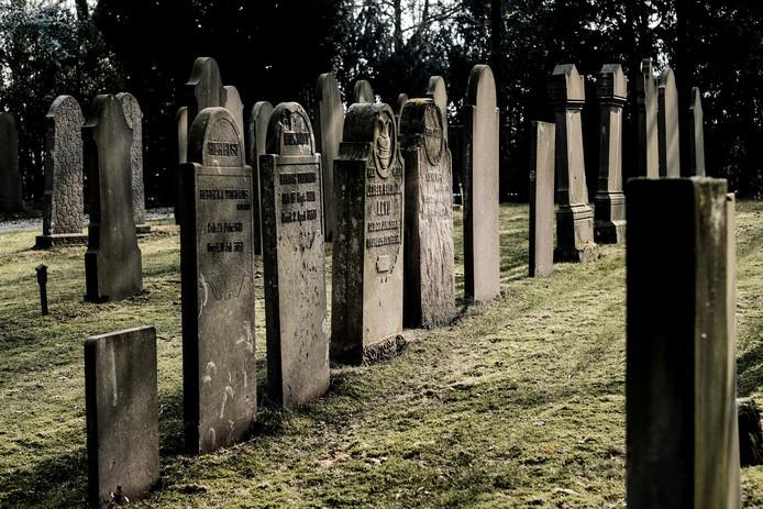De Joodse Begraafplaats in Doetinchem.