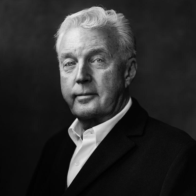 André van Duin: 'Als de groenteboer zijn winkel sluit, is hij de groenteboer niet meer. Ik blijf altijd André van Duin.' Beeld Frank Ruiter