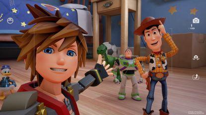 'Kingdom Hearts III' mixt Japanse fantasy met Disneyfiguren