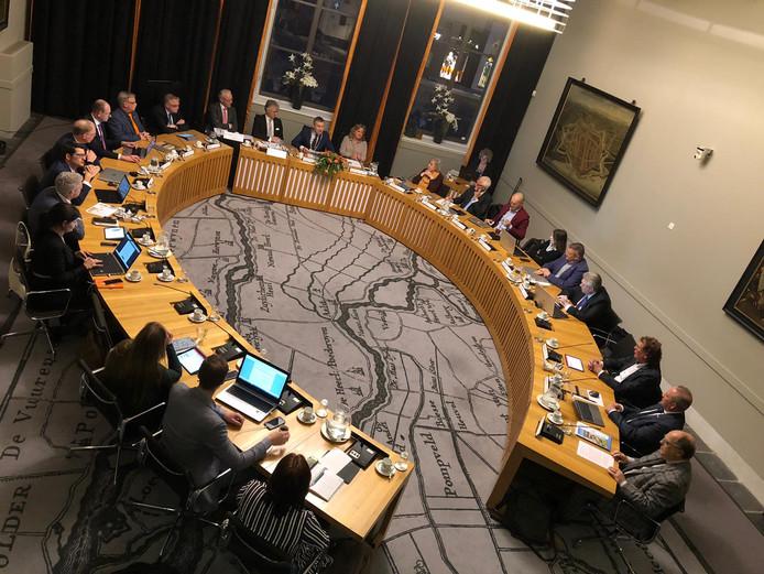 De gemeenteraad van Zaltbommel tijdens een vergadering eerder dit jaar.