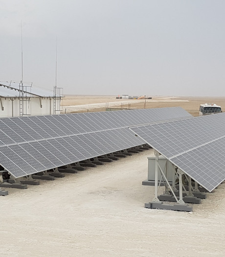 Eindhovense mini-energiemaatschappij in de bloedhete woestijn