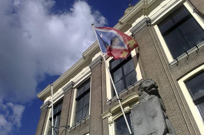 Het gemeentehuis in Zaltbommel.