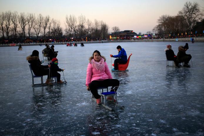 Vorig jaar zorgde een splitsing van de poolwervel voor kou in Peking.