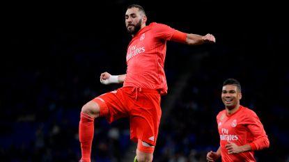 VIDEO. Real Madrid en Courtois kennen prima avond in Barcelona en zien Benzema uitblinken