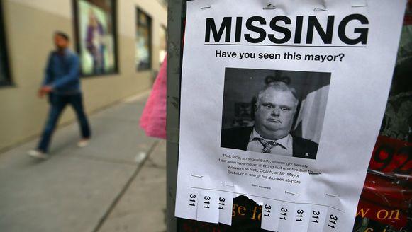 Er werd druk gespeculeerd over waar de burgemeester van Toronto zich bevond deze week.