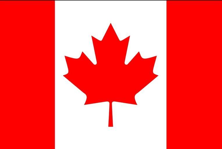De vlag van Canada. Beeld Wikimedia / Creative Commons