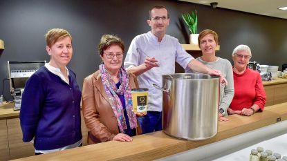 Traiteur Q'linair en Ardo verkopen warmste soep voor Sint-Maartenshuis