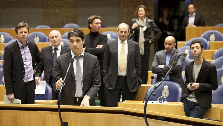 GroenLinks Tweede Kamerlid Arjan El Fassed. Beeld null