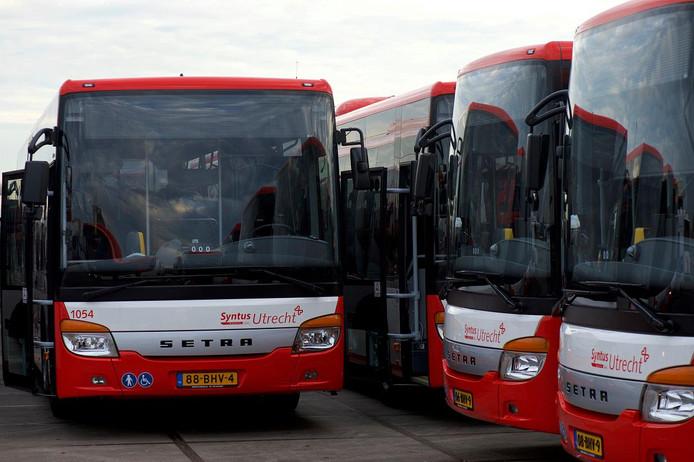 Syntus laat vanaf december een nachtbus naar Rhenen en Wageningen rijden.