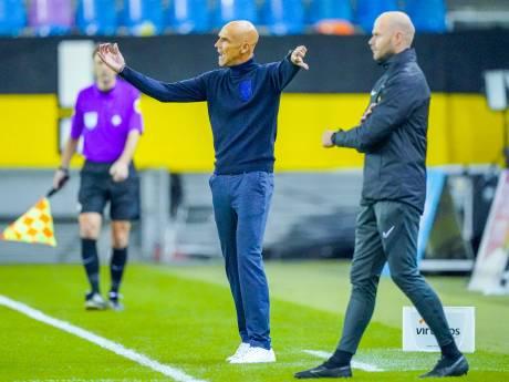 Succescoach Letsch looft de teamspirit bij Vitesse