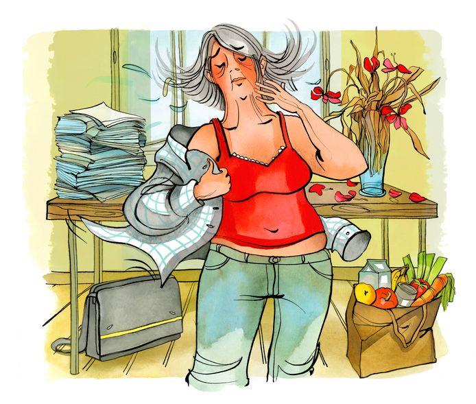 Hormoonschommelingen beginnen ver voordat vrouwen zelf aan de overgang denken. Vandaar dat klachten vaak onterecht aan een burn-out worden toegeschreven.