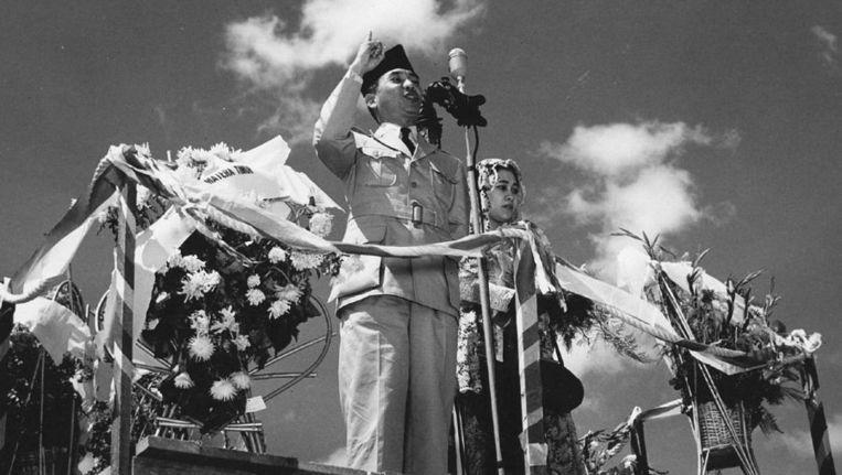President Soekarno. Beeld anp