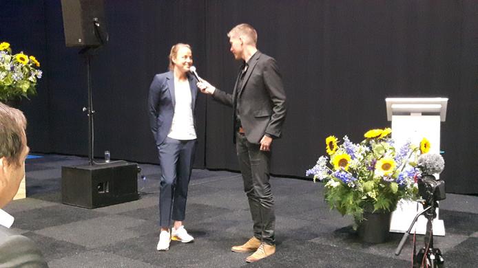 Hockeyster Maartje Paumen sprak over vertrouwen.