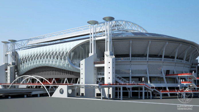 Verbouwing Johan Cruijff Arena Is Van Start ad16166b on toon in radio