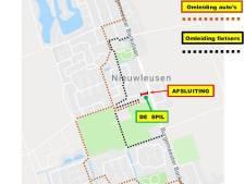 Prinses Beatrixlaan in Nieuwleusen vier weken dicht door werkzaamheden