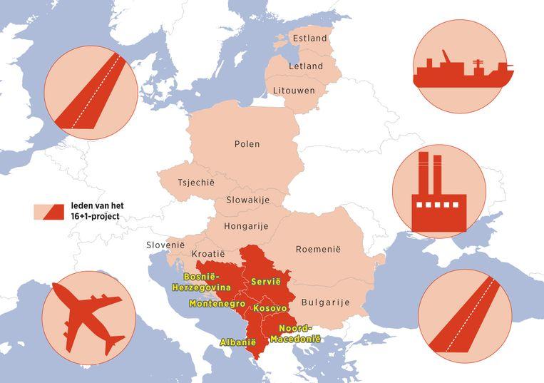 Chinese investeringen in de Balkanlanden. Beeld Sander Soewargana