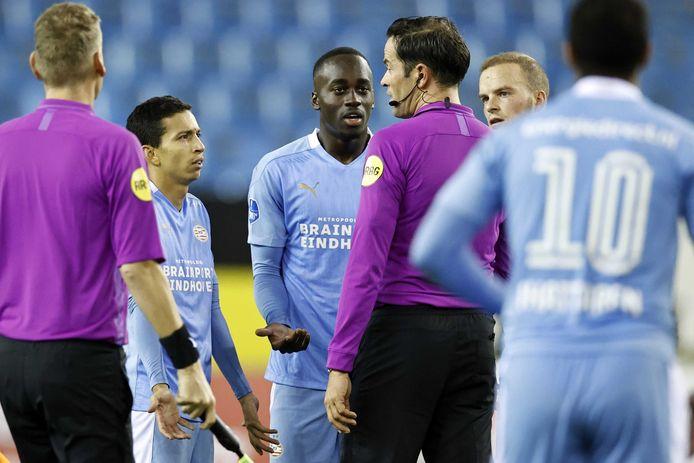 PSV'ers beklagen zich bij Vitesse.