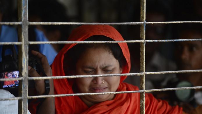 Een familielid van de blogger nadat zij zijn lichaam heeft gezien