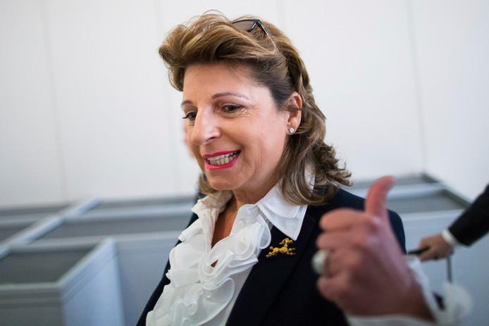 Babette Albrecht op archiefbeeld uit 2015