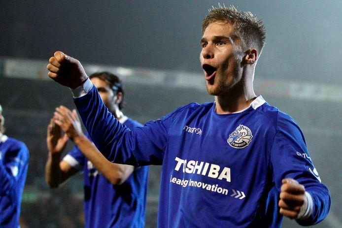 Tom van Weert in zijn periode bij FC Den Bosch, de club waar hij de jeugdopleiding doorliep en debuteerde in het betaald voetbal.
