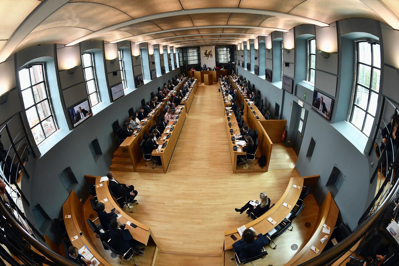Le Parlement wallon à Namur, ce 11 juin.