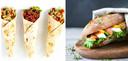 Door alleen de wrap te vervangen door volkoren brood, kies je al voor een lichtere versie.